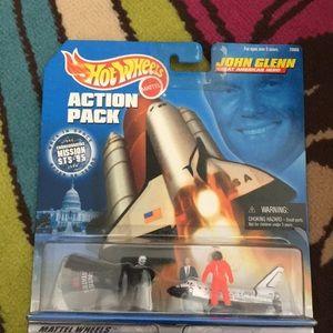 John glenn action pack hot wheels collector